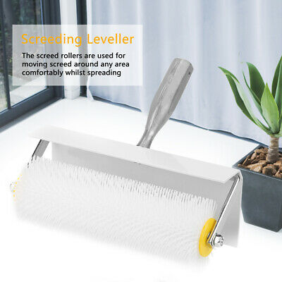 Useful Spiked Aeration Roller 250mm Self Levelling Roller Remove Air Bubbles