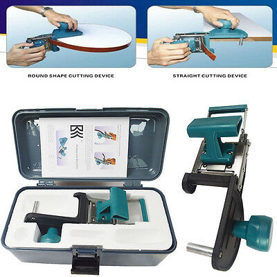 Manual WoodWork Portable Edge Banding Machine for 2 Types of Shape US
