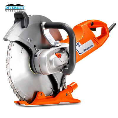 "Husqvarna K 3000 Vac 2700W 350mm (14"") Wet Concrete Saw with Vacuum Attachment"