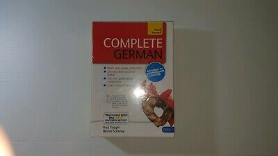 NEW & Sealed TEACH YOURSELF Complete German Course (Beginner to Intermediate) Au