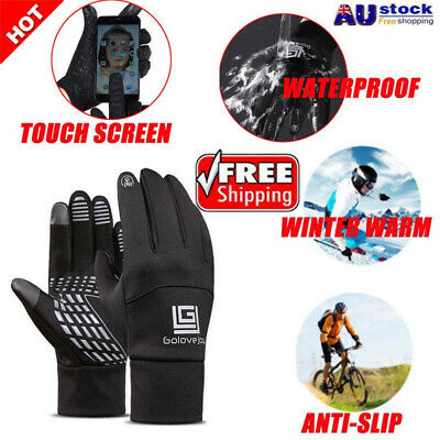 Sports Neoprene Windproof Waterproof Touch Screen Thermal Gloves Mittens Winter
