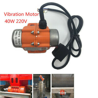 AC Vibration Motor Vibrator 40W 220V 1phase 3600rpm Fr Feeder Massager Vibrating