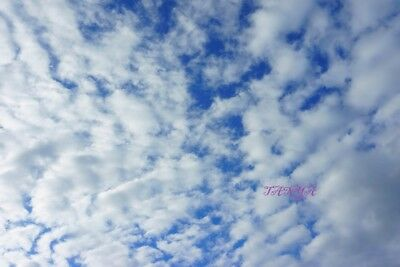 3 Digital Picture Photo Digitales Foto beautiful blue sky with clouds