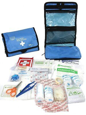 97 Piece First Aid Kit Medical Emergency Travel Home Car Taxi Work 1St Aid Bag
