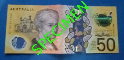 RARE $50 Dollar Australian Note With Spelling Error ▓▒█▒ONLY 400 MILLION PRINTED