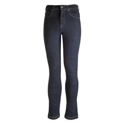 Bull-it Men's Italian 17 Slim SP120 SR6 Blue Motorcycle Covec Armoured Jeans Reg