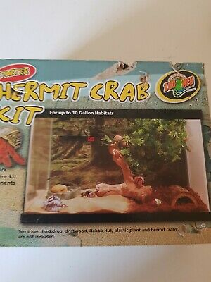 Zoo Med  Hermit Crab Starter Kit For Up to 10 Gallon Habitats