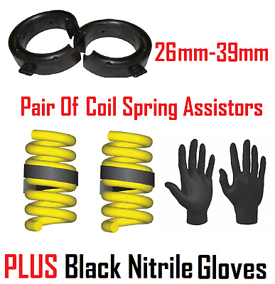 UKB4C 39-51mm Coil Spring Assister for Towing Car Suspension Gap Heavy Duty Rubber