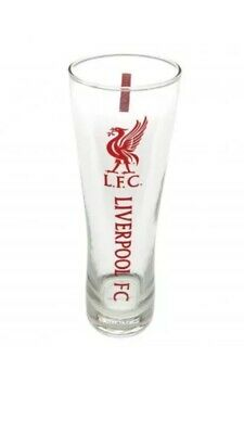 Liverpool FC Official Football Gift Tall Beer Pint Glass Fathers Day