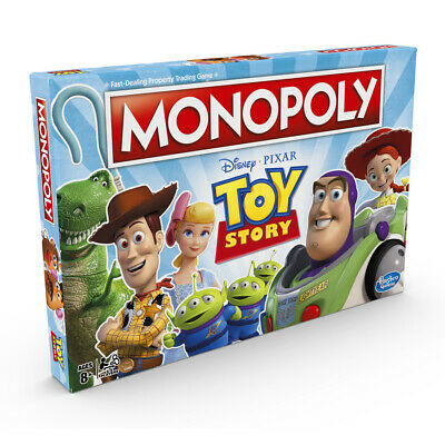 Monopoly Toy Story Disney Pixar Board Game