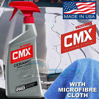 Mothers CMX Car Paint Water Bead Ceramic Spray Coat Coating Sealant Spray.+Cloth