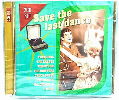 Save The Last Dance 2 Disc Set  - RARE CD - BRAND NEW SEALED - MUSIC ALBUM