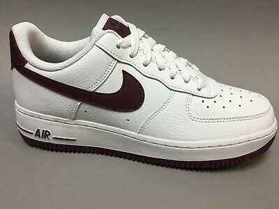 NIKE AIR FORCE 1 '07 Damen Sneaker weiss rot AH0287 110 neu