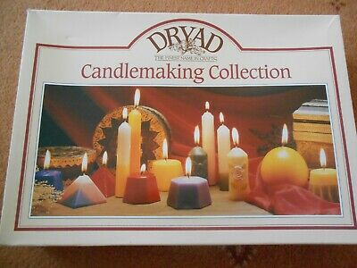 Candlemaking collection Kit. opened but unused amazing large Dryad Set .