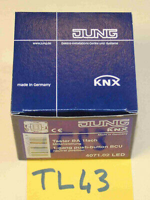 JUNG KNX bus coupling unit bouton 4071.02 LED ( TL43 )