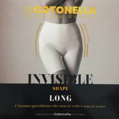 Guaina modellante donna COTONELLA INVISIBLE SHAPE LONG senza cuciture