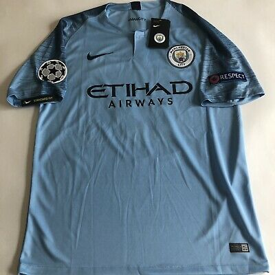 first rate 704a7 47a7d KEVIN DE BRUYNE Manchester City Home Jersey 18/19 Brand New With Tags. Mens  L