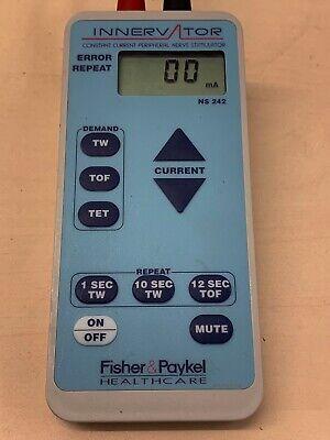 Fisher & Paykel Innervator 242 Peripheral Nerve Stimulator ns242a light blue