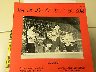 RARE BOOTLEG RECORD Elvis Presley The Nashville Outtakes Early