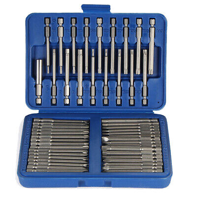 50pcs embouts de tournevis Torx Screwdriver Bit Set Multi-size Extra Long