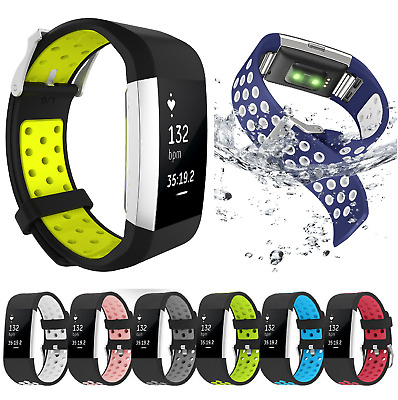 Replacement Silicone Soft Sport Strap Wrist Band Bracelet For Fitbit Charge 2/HR