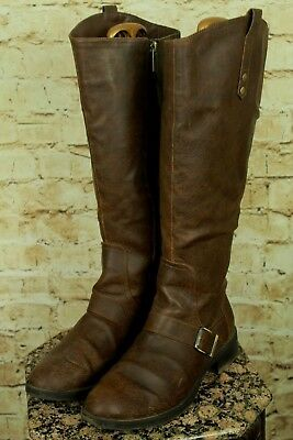 "Sam Edelman Circus ""Roman"" Women's Brown Knee High Boots Size 11Us/43Eu Vgc!!"