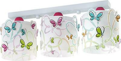 (TG. 190 x 510 x 150) DALBER - 3light ceiling lamp Butterfly - NUOVO