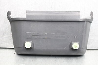 VOLVO 240 center console parking e brake cover BLUE cubby insert pocket 1244480