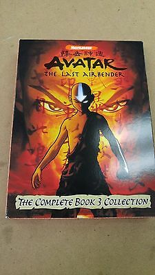 Avatar the Last Airbender, The complete Book 3 Collection. 5 DVD set