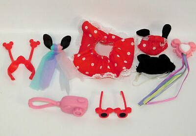 My Little Pony G3 Disney Minnie Mouse Costume Outfit Mickey Ears Glasses & More