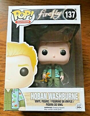 Funko POP! HOBAN WASHBURNE #137 FIREFLY Limited Vaulted NEW PICS In PROTECTOR!