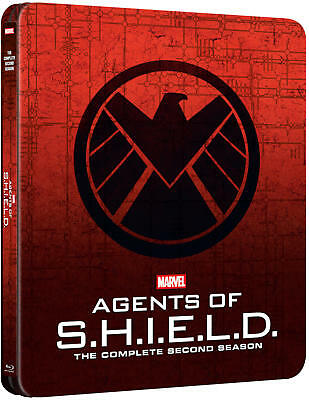 Mavels Agents of S.H.I.E.L.D. Season 2 Two - Steelbook (Blu-ray) NEW!! SHIELD