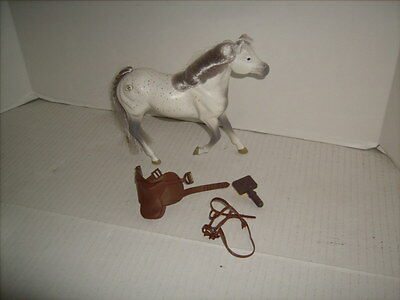 GC Grand Champions Horse Horses with Accessories White with Gray