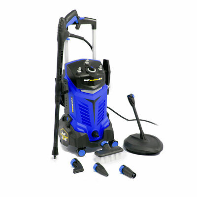 ExDemo Wolf Electric Pressure Washer 165BAR Water Power Jet Sprayer Blue