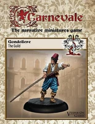 Carnevale miniature game Gondoliere new