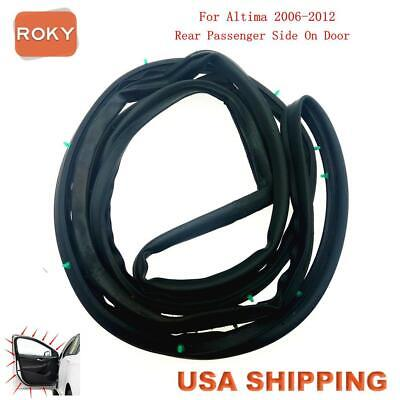 Door Opening Weatherstrip Seal High Quality Rear Right for Altima 2006-2012