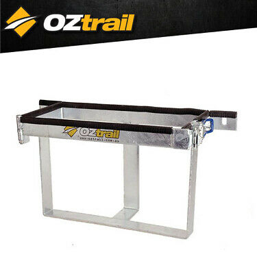 Oztrail Camper Jerry Can Holder 20L Trailer Attachment Spare