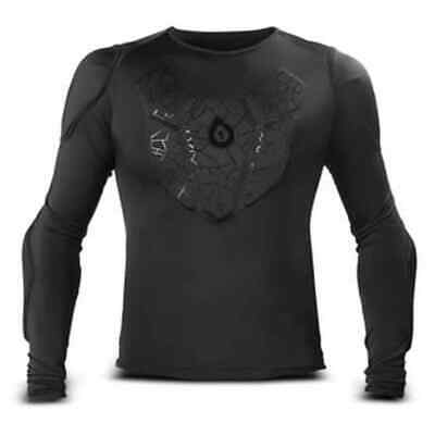 SixSixOne Mens Long Sleeve Protective Compression Motocross Sub Gear - X-Small