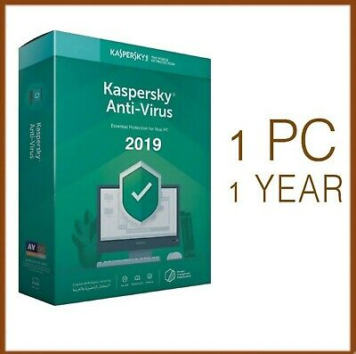 Kaspersky Anti-Virus 2019 1 PC Device 1 Year - Global License