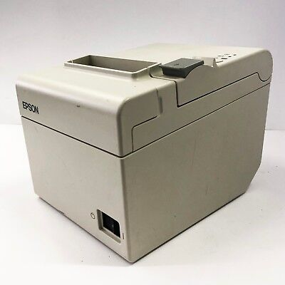 USED Epson TM-T20 POS Thermal Receipt Printer USB Interface 1113P-WHT-U