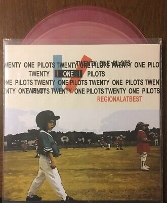Twenty One Pilots, Regional At Best, 180 Gram Transparent Pink Marble Vinyl 2Lp
