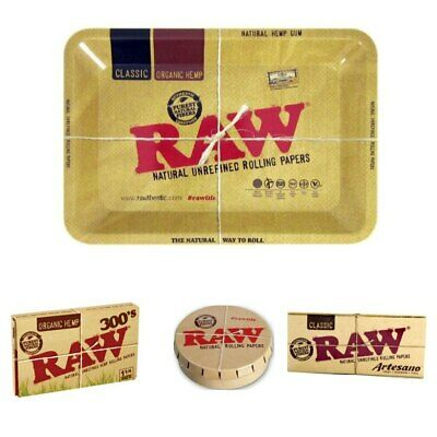Raw Gift Set Artesano 300 Click Clack and Tray Rawthentic Papers Accessories