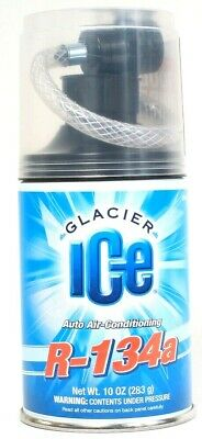 1 Glacier Ice 10 Oz R 134a Auto Air Conditioning No Tools Required Ready To Use
