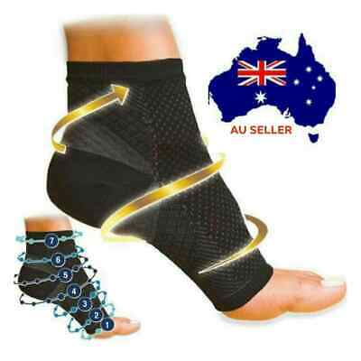 Compression Sock Plantar Facilities Sore Achy Feet Therapy Wrap Support Brace