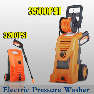 Electric High Pressure Water Cleaner Washer Hose Nozzle Pump Cleaning Gurney AU