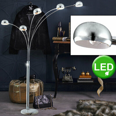 LED floor lamp living bedroom lighting dimmable marble stand light fixture new