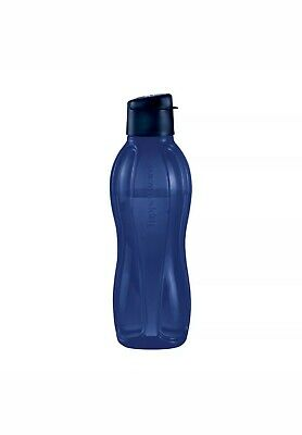 New TUPPERWARE Large Water Bottle 36OZ (1L) in Indigo FREE US SHIPPING BPA Free