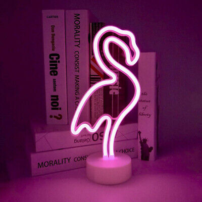 Flamingo Neon Light Pink Led Signs