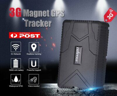 3G GPS Tracker Car Yacht Boat Truck Vehicle Live Tracking Magnet Device 10000mAh