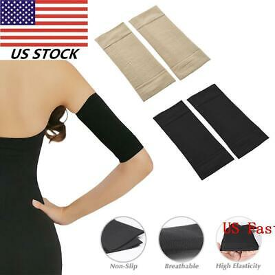 7b181c0fb4 New Compression Slim Arms Sleeve Shaping Arm Shaper Upper Arm Supports  2Color US